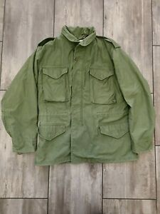 Alpha Industries US Army Military M65 Cold Weather Field Jacket Medium