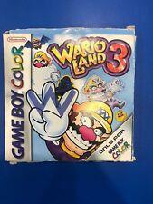 Wario Land 3  Nintendo Game Boy Color game Pak