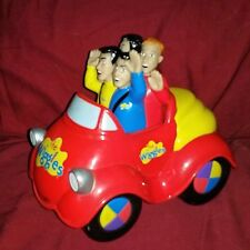 The Wiggles Chugga Chuggin Big Red Car Motorized Talking Vehicle Spinmaster '03