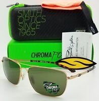 d26896de62 Free shipping. NEW Smith Nomad sunglasses Gold Grey ChromaPop+ Plus  Polarized Titanium  269msrp
