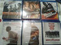 Lote películas  BLU-RAY, PRECINTADAS Y  NUEVAS- 30 BLU RAY A ESCOJER