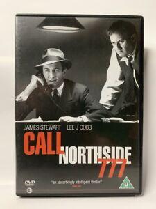 CALL NORTHSIDE 777 rare UK Second Sight DVD James Stewart film noir B&W classic