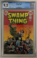 Swamp Thing #5 CGC 9.2 Bronze Age DC, Bernie Wrightson Cover and  ART