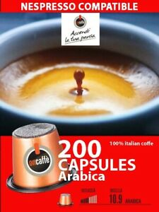 200  nespresso compatible coffee capsules  for OriginalLine machine , arabica