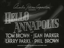 HELLO ANNAPOLIS  1942 (DVD) TOM BROWN, JEAN PARKER