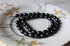 ov302 perles de culture chapelet eau douce BIJOUX SANS COLLIER 8-9mm ovale NEUF