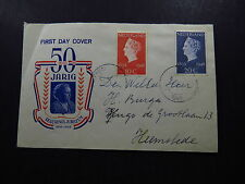 FDC Cover Nederland 50 Jarig Regerings Jubileum 1948 Amsterdam Heemstede