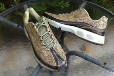 2006 YEAR NIKE AIR MAX 360 EVOLUTION OLIVE GREEN LEATHER TRAINERS SIZE UK 10