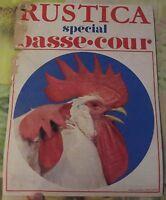 Ancienne Affiche Publicitaire Rustica Spécial Basse Cour 1970  38 x 28cm