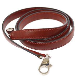 HERMES Shoulder Strap For Kelly Bordeaux Box Calf France Vintage AK31572k