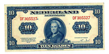 Netherlands … P-66 … 10 Gulden … 1943 … *VF-XF*