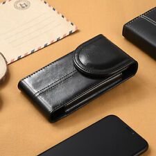 Leather Case Pouch Cover Holster Sleeve For iPhone 11 Pro Xs X Samsung S8 S9 S10