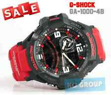 G-SHOCK BRAND NEW WITH TAG GA-1000-4B  BLACK X RED GRAVITYMASTER AVIATION