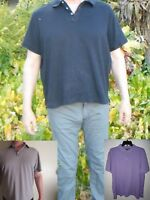 Michael Kors Polo Casual Short Sleeve Shirt L XL 2XL Black Beige Gray