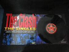 Clash The Singles EU Vinyl LP 1999 Remaster Version Joe Strummer Big Audio Punk