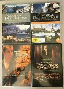 2 x Classical Destinations DVDs + Musical Renegades + Lord Of Rings Symphony