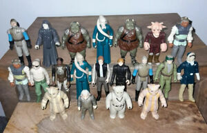 Vintage Star Wars Figure Collection X 20 Joblot