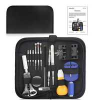 Set of 14 Watch Repair Tool Kit Opener Link Remover w/ Free Carrying Case New