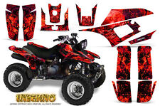 YAMAHA WARRIOR 350 GRAPHICS KIT CREATORX DECALS STICKERS INFERNO R