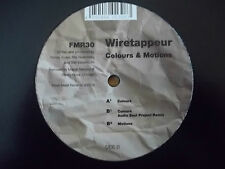 "WIRETAPPEUR - COLOURS & MOTIONS 12"" RECORD / VINYL - FRESH MEAT - FMR30"