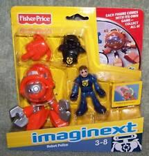 IMAGINEXT 2010 ROBOT POLICE DEEP SEA ROBOT SET W/CD-ROM GAME