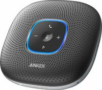 Anker - PowerConf Bluetooth Speakerphone, 6 Mics, Voice Enhancement, 24H Call...