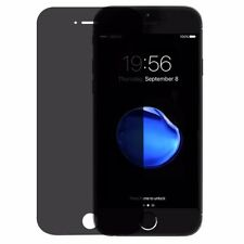 "Apple iPhone 7 Plus 6 6s Privacy Tempered Glass Screen Secret Protector Anti-spy iPhone 7 4.7"" X 2"