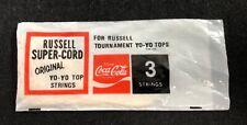 Coca Cola Russell Super Cord Yo-Yo Strings (3 strings) Single pack