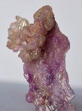 EXQUISITE MANGAN VESUVIANITE Fine Mineral Crystal Jeffrey Mine, Asbestos QC