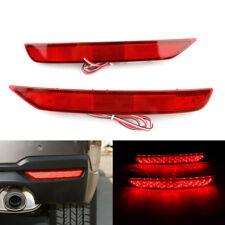 2x LED Rear Bumper Reflector DRL Brake Light Lamp For SubaruForester2008-2017