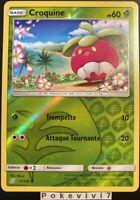 Carte Pokemon CROQUINE 17/236 REVERSE Soleil et Lune 11 SL11 FR NEUF