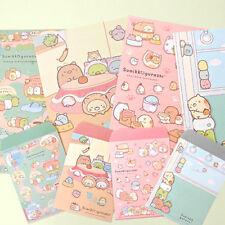 1x Sumikko Gurashi Ver.2 Letter 4sh Lined Writing Stationery Paper 2sh Envelope
