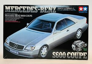 Tamiya Mercedes-Benz S600 Coupe Model Kit in 1:24 Scale