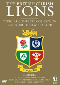 British & Irish Lions Official Complete DVD NEW