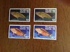 Pitcairn Islands. 1988. Fish. Two Different Watermarks. Complete Sets. SG 312-3.