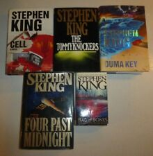 Lot of 6 Science Fiction Books by Stephen King, HBDJ and PB, HBs 1st EditionsFLR