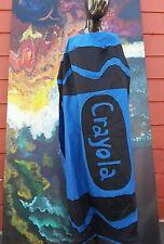Crayon costume blue crayola large burners BLUE GIANT CRAYOLA COSTUME FUN CRAYONS
