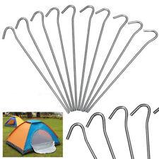 50x Heringe Zeltheringe 20cm- aus verzinkt Stahl-Zeltnagel-Erdnagel-Zelthering