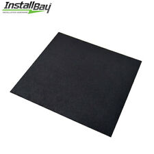 (1) ABS Plastic Textured Plastic Sheet Universal 12in x 12in x 3/16in Black