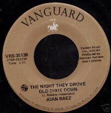 JOAN BAEZ 45 TOURS CANADA WHEN TIME IS STOLEN