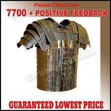 Deluxe Roman Lorica Segmentata Breastplate Costume Brass Lined Segmenta s@#20
