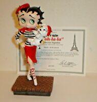 """Danbury Mint Betty Boop """"Ooh-La-La"""" Figurine w/ COA & Box - Nice!!"""