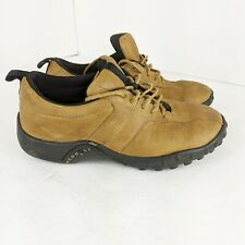 Merrell Boys Shoes 2 Concourse Brown Lace Up Nubuck Leather Air Cushion Kids