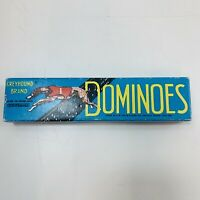 Greyhound Brand Dominoes Spears Games Vintage Collectible