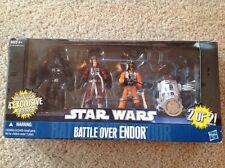 Star Wars Action Figures Battle Over Endor
