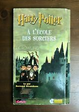 Harry Potter A L'Ecole des Sorciers Rowling Audiobook CDs French Chamber Secrets