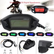 Universal LCD Digital Backlight Motorcycle Odometer Speedometer Tachometer Gauge