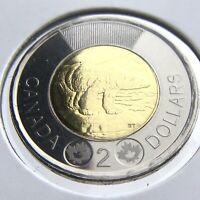 2016 Canada 2 Dollars Toonie Brilliant Uncirculated Canadian Coin N178