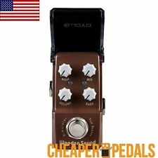 NEW JOYO WOODEN SOUND IRONMAN Acoustic Sim JF-323 Pedal *Free* Shipping!