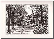 Arno Fleischer - Original Grafik Lithographie BAD SCHMIEDEBERG -06383-